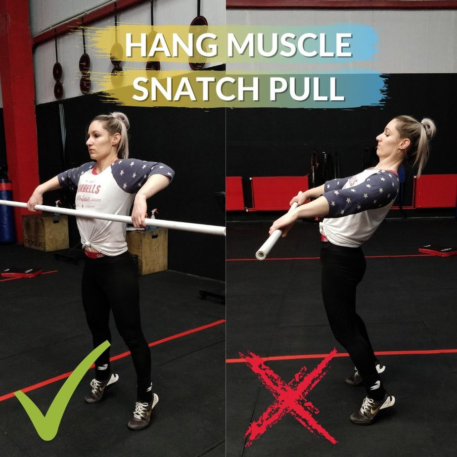 Hang Muscle Snatch Pull