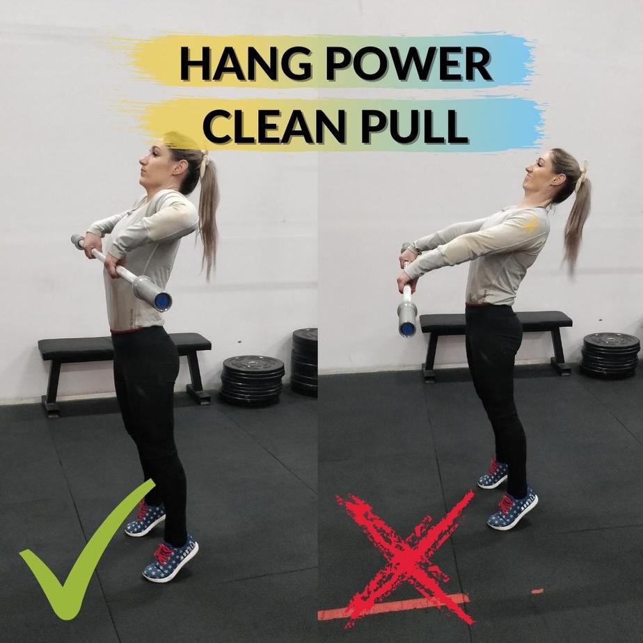 Hang Power Clean Pull