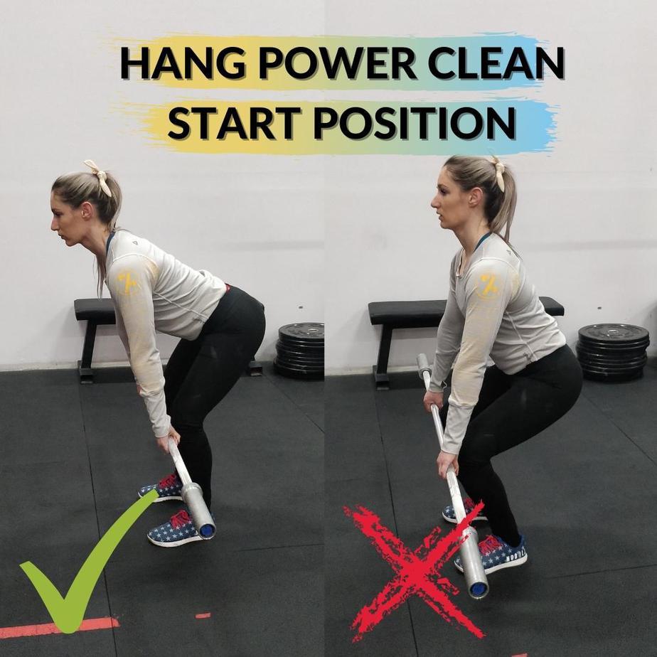 Hang Power Clean StartPosition