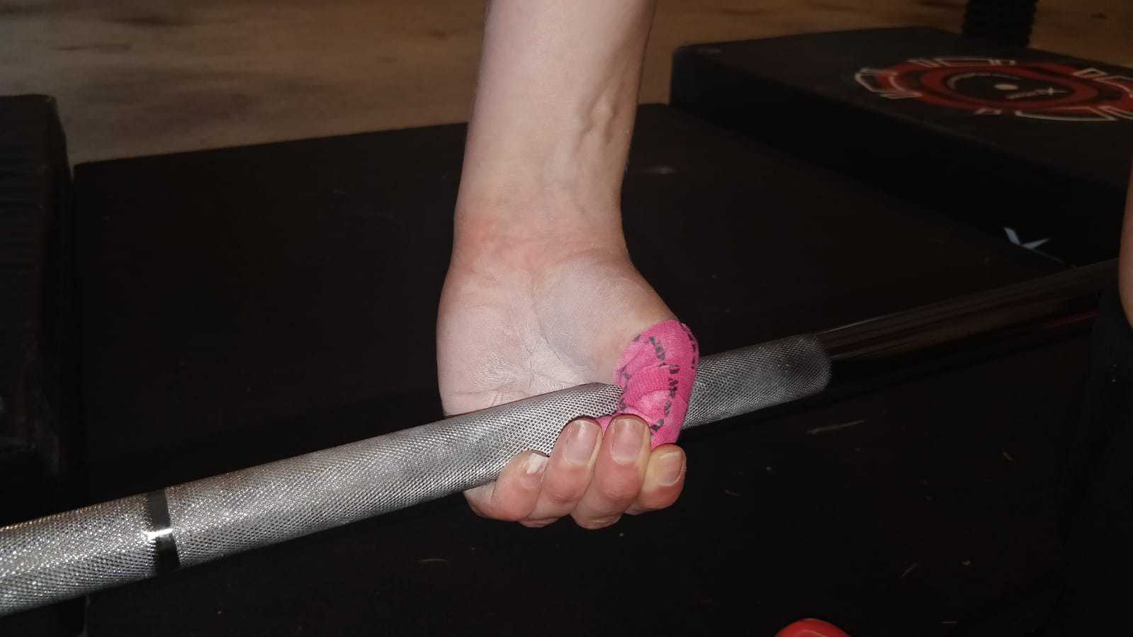 Why Do Olympic Weightlifters Tape Their Thumbs