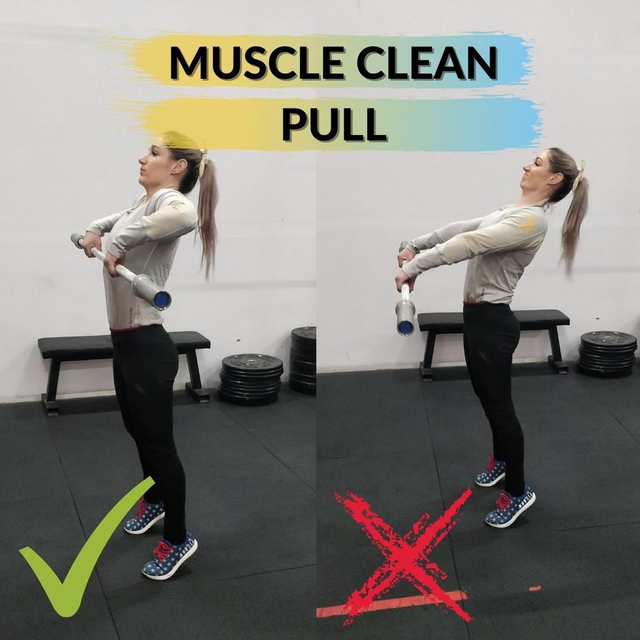 Muscle Clean Pull
