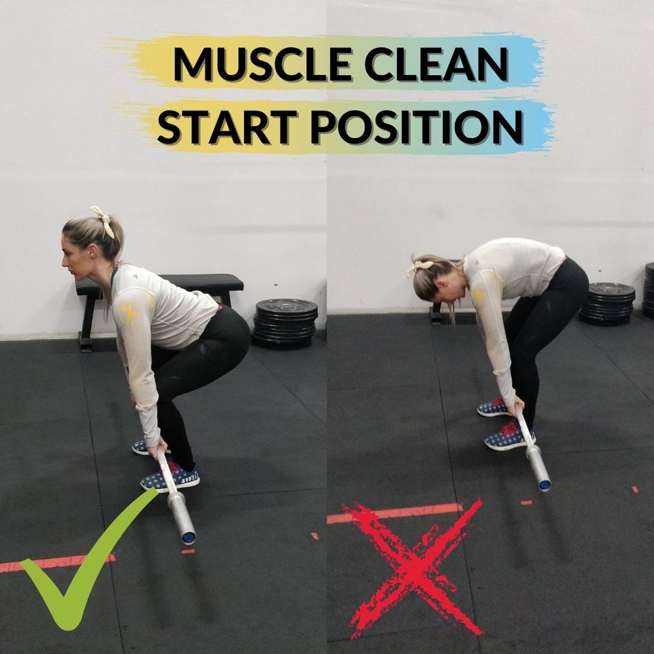 Muscle Clean Start Position
