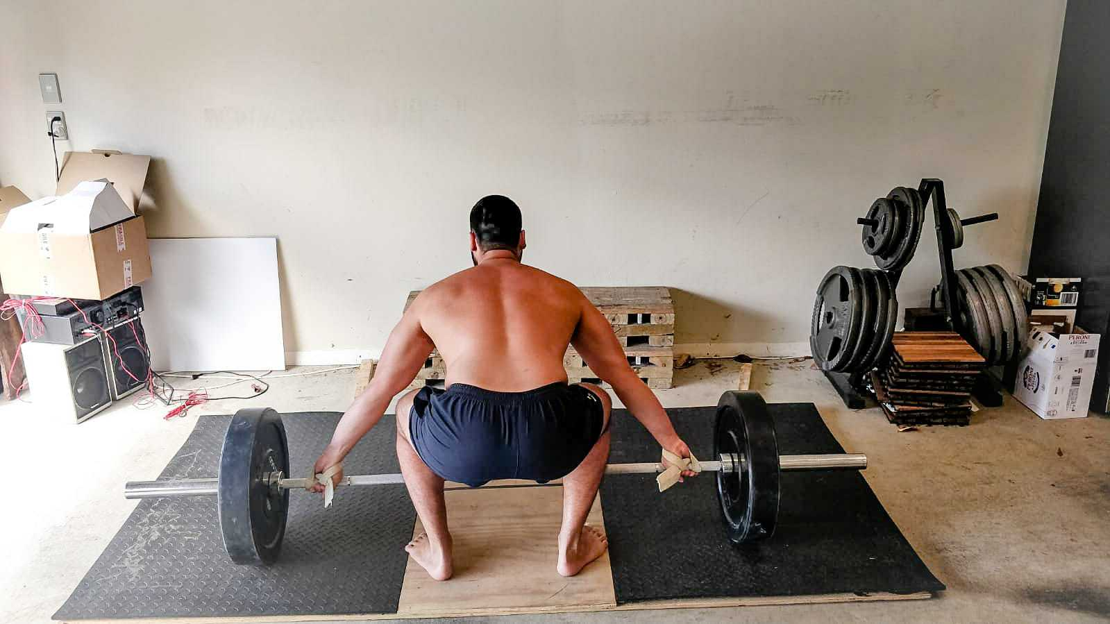 Olympic Lifting Hypertrophy Routine