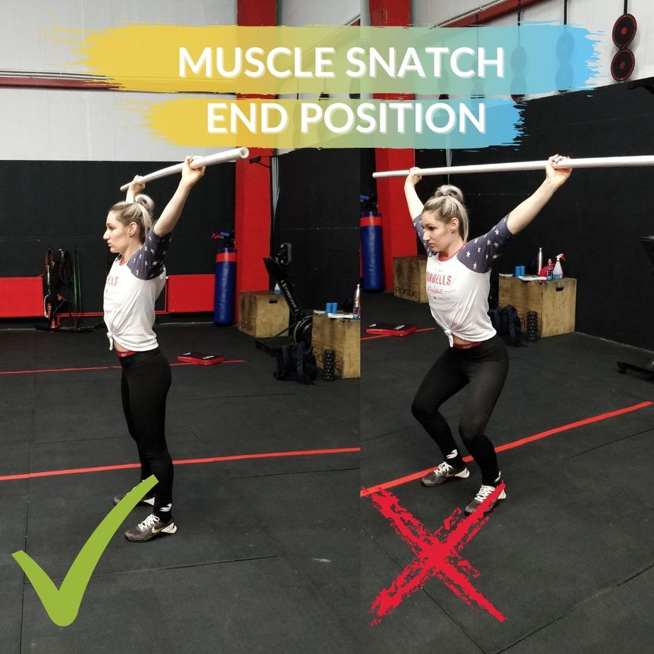 Hang Muscle Snatch Catch