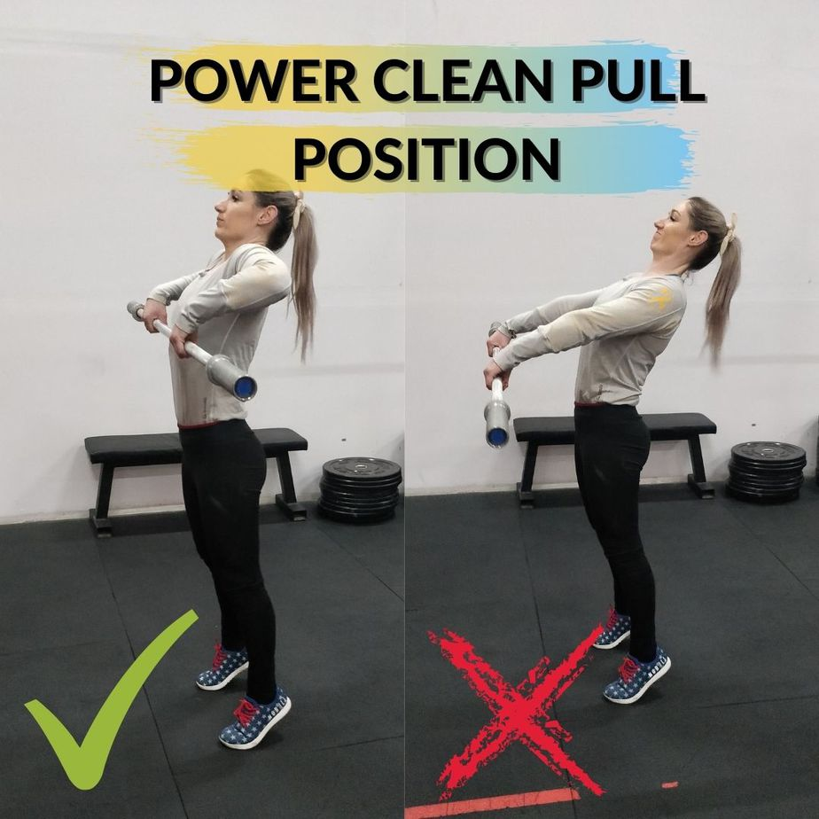 What Muscles Does The Power Clean Work