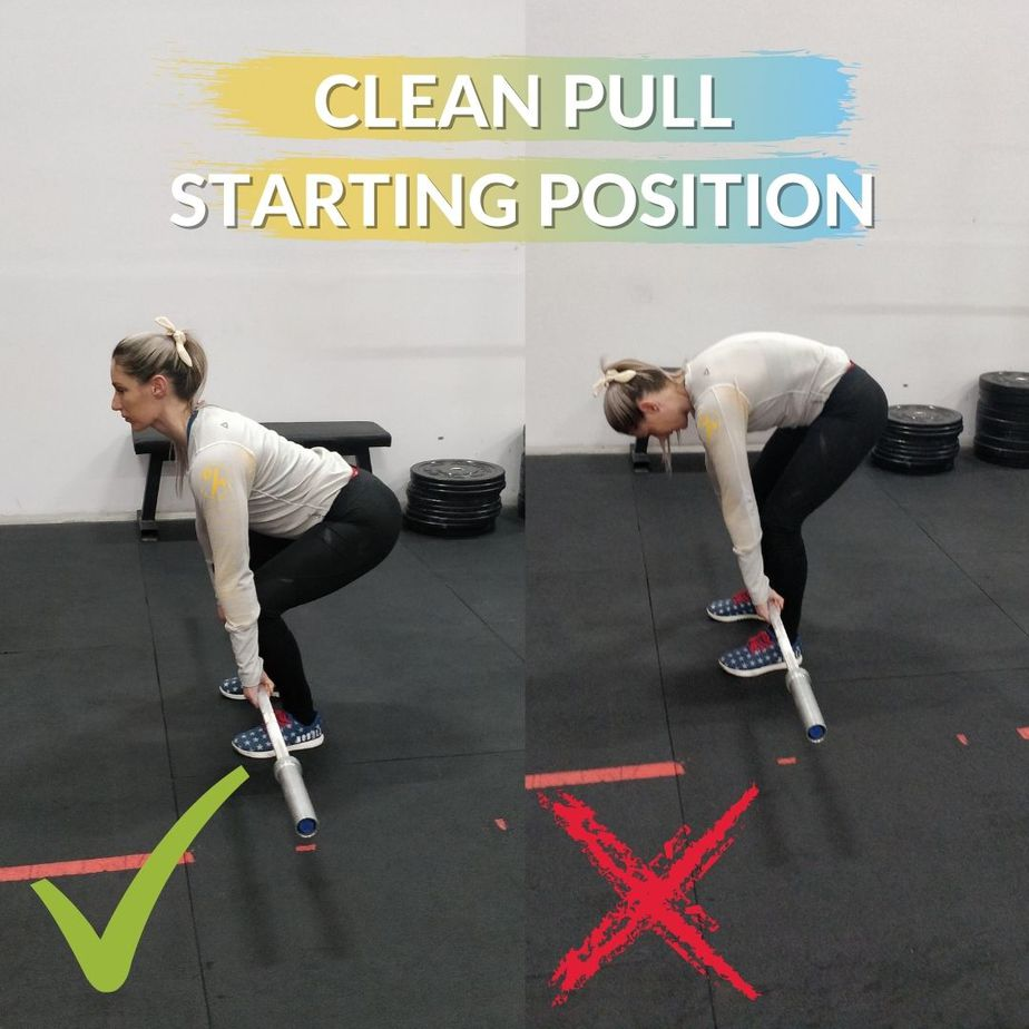 Clean Pull Starting Position